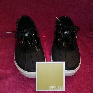 Michael Kors Black Hyde Lace Up Shoes 7M